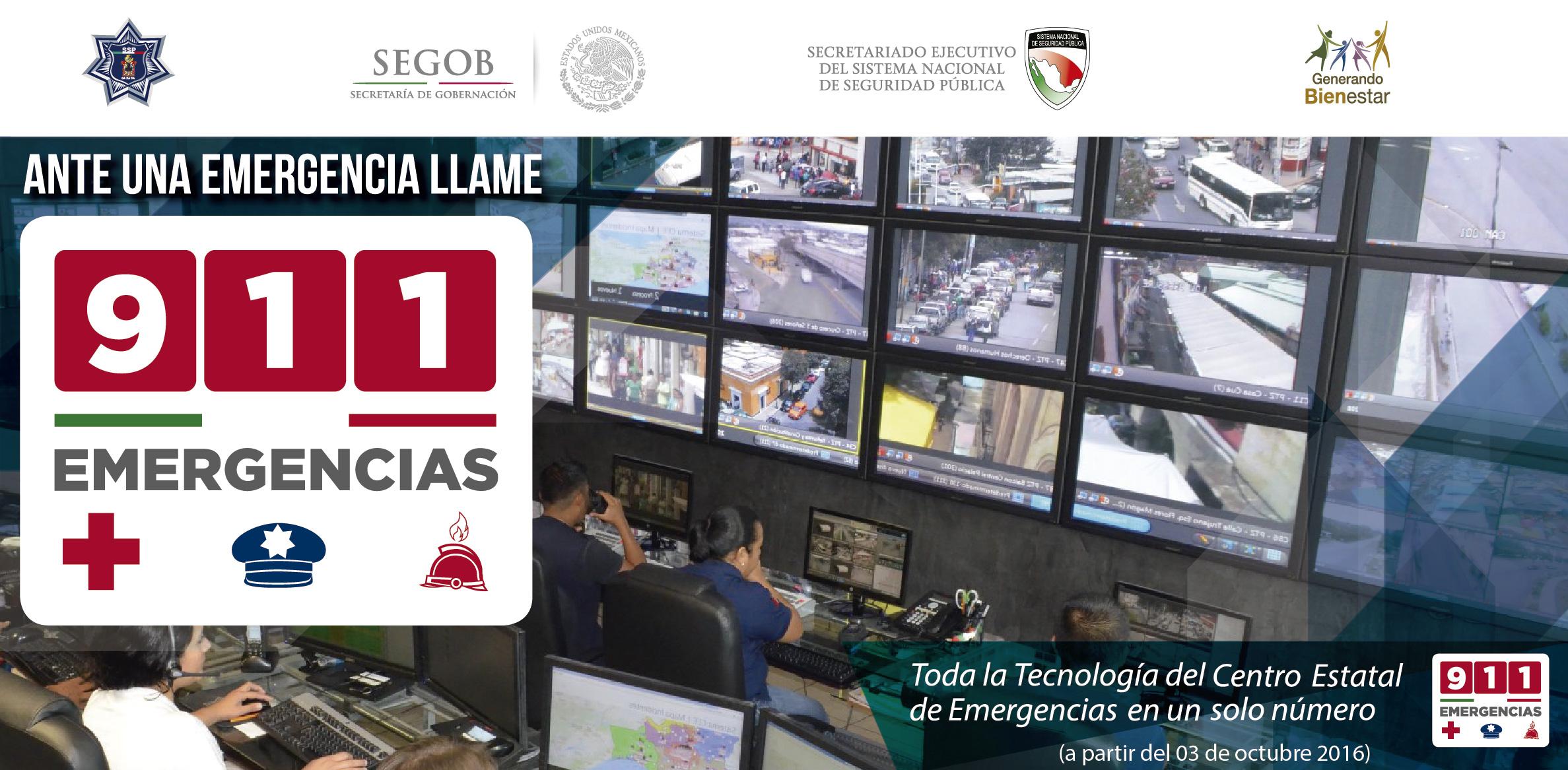 SERVICIO TELEFÓNICO DE EMERGENCIAS 066 MIGRARÁ AL 911: SSPO